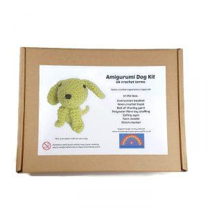 amigurumi dog kit
