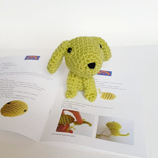 amigurumi dog kit pattern