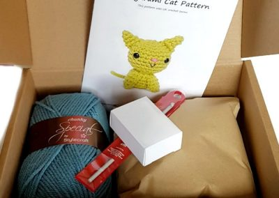 amigurumi cat crochet kit